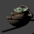 Télécharger fichier STL Bébé Yoda - la meute mandalorienne, Aslan3d