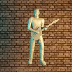 1satriani.jpg Download STL file Joe Satriani • 3D print design, Aslan3d