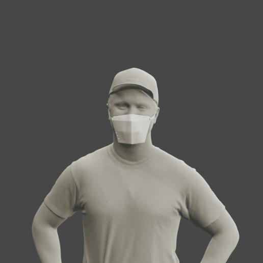 Download free 3D printer files Mask, Aslan3d