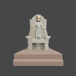 1rey niño.png Download free STL file king josiah • 3D print object, Aslan3d