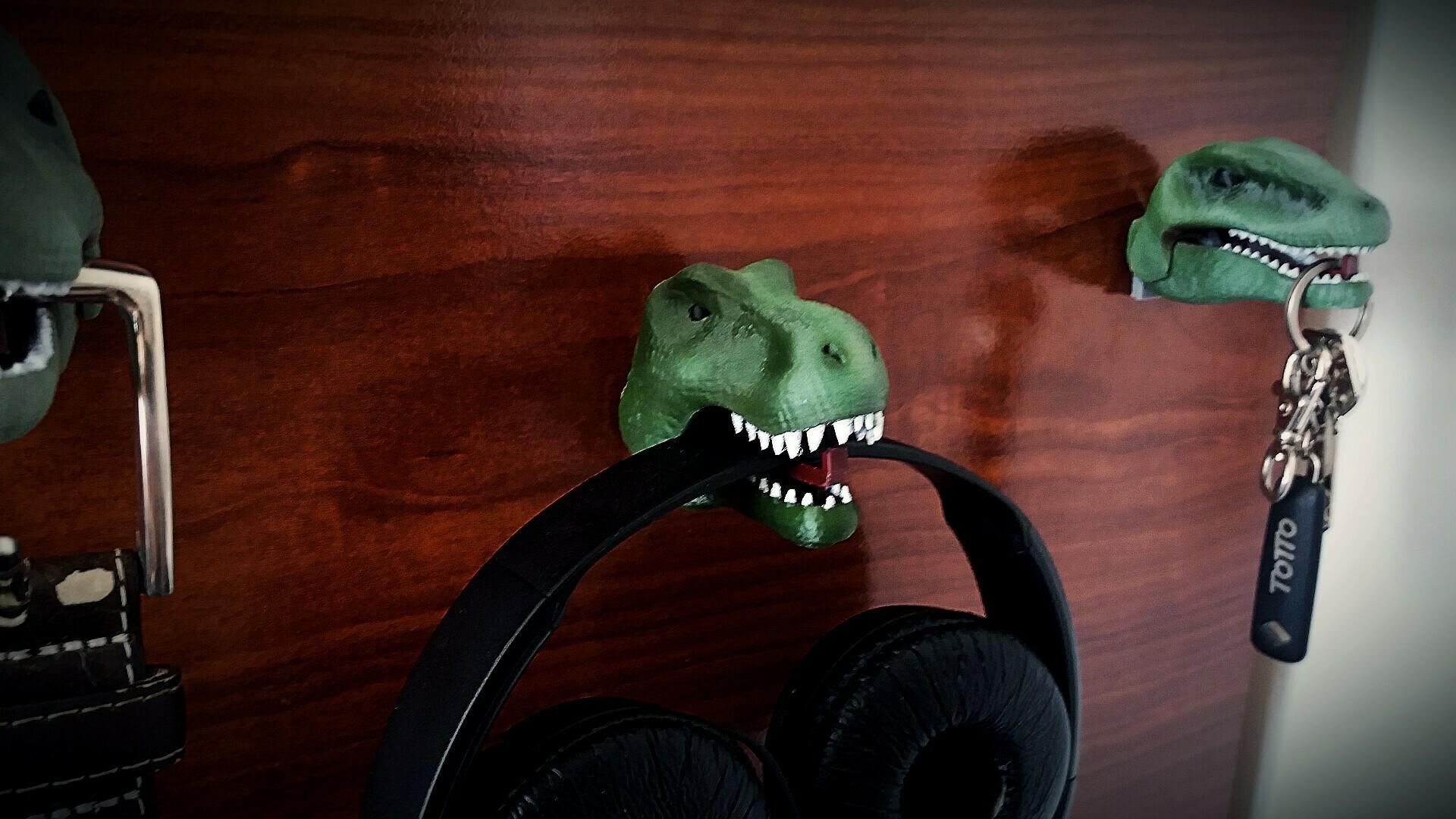 3 foto dinos.jpg Download STL file Hanging Dinosaurs • Model to 3D print, Aslan3d