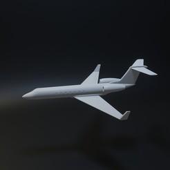 1foto.jpg Download STL file Gulfstream G650 aircraft • Model to 3D print, Aslan3d