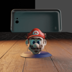 Télécharger fichier imprimante 3D mario bros iphone, Aslan3d