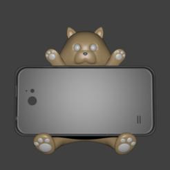 Download 3D printing templates CAT PHONE, Aslan3d