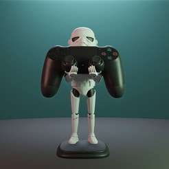 Descargar archivo 3D Storm Trooper PS4, Aslan3d