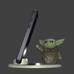 Descargar modelos 3D para imprimir YODA BABY TIERNO, Aslan3d