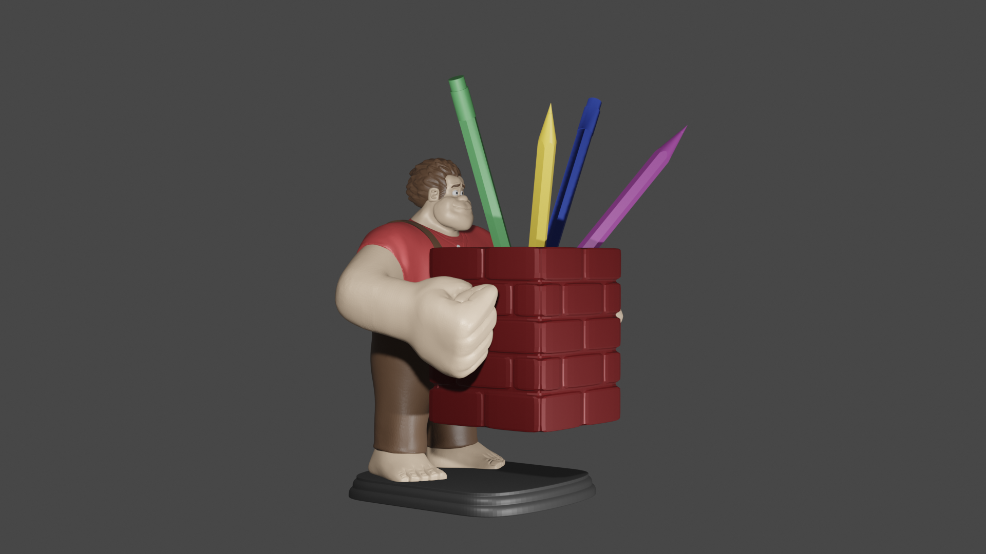 3 ralph.png Download free STL file Ralph the Feather Wrecker • 3D printer design, Aslan3d
