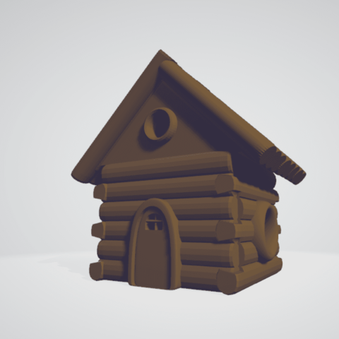 Download free STL file Armable house • 3D printing template, Aslan3d