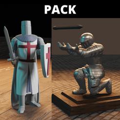 Download STL files warrior pack, Aslan3d