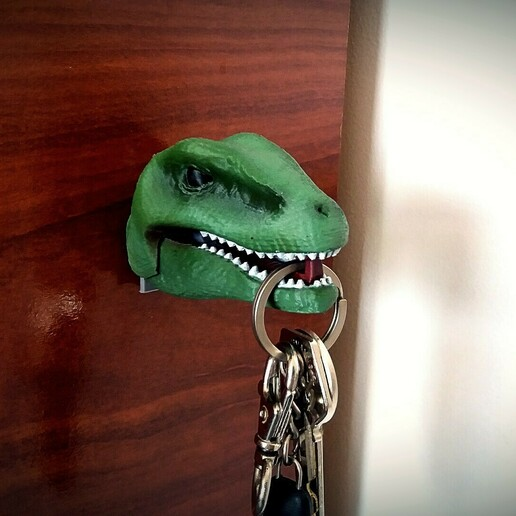 4 foto dinos.jpg Download STL file Hanging Dinosaurs • Model to 3D print, Aslan3d