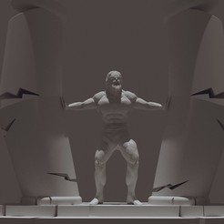 1RENDER sans.jpg Download STL file SAMSON • 3D print design, Aslan3d