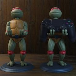 Render1.jpg Download STL file ninja turtle ps4 • 3D printable model, Aslan3d