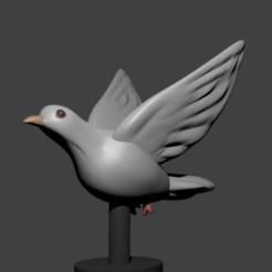 Imprimir en 3D Paloma, Aslan3d