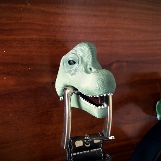 2 foto dinos.jpg Download STL file Hanging Dinosaurs • Model to 3D print, Aslan3d