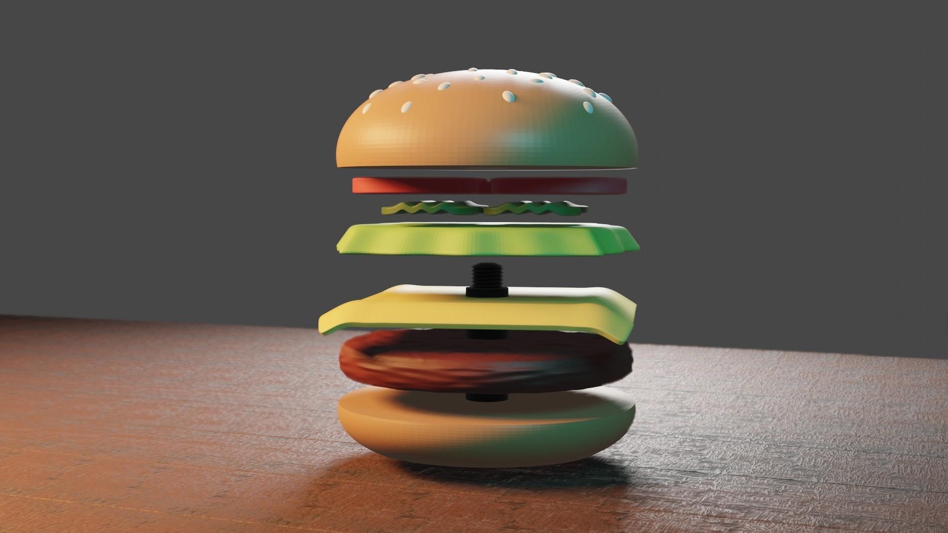 5.jpg Télécharger fichier STL gratuit Cangreburguer • Objet pour impression 3D, Aslan3d