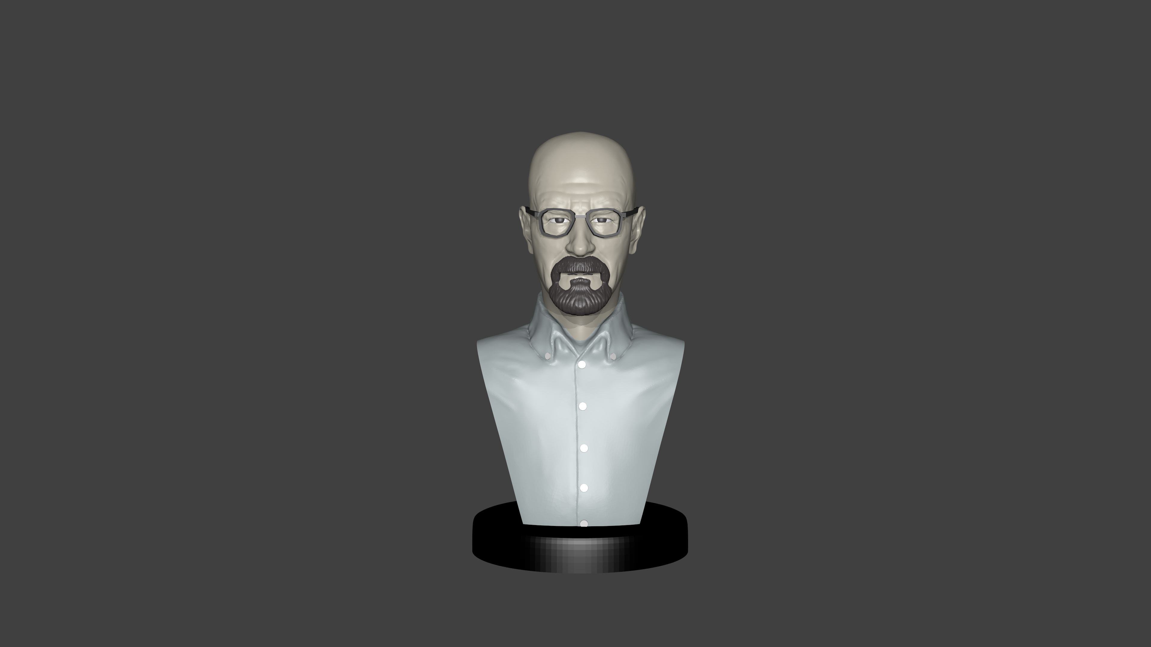 Render1.png Télécharger fichier STL gratuit Breaking Bad • Plan imprimable en 3D, Aslan3d