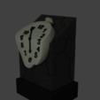 3RELOJ.png Télécharger fichier STL gratuit DALI WATCH • Modèle pour imprimante 3D, Aslan3d