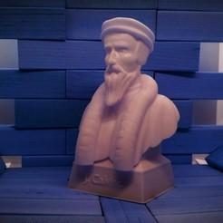 calvino2.jpg Download STL file John Calvin • 3D printer object, Aslan3d