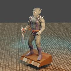 4 pantron.jpg Télécharger fichier STL Chats du tonnerre articulés • Objet pour impression 3D, Aslan3d