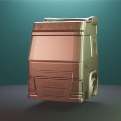 Download STL file Truck • 3D printer model, Aslan3d