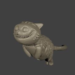 Descargar diseños 3D Gato de Cheshire, Aslan3d