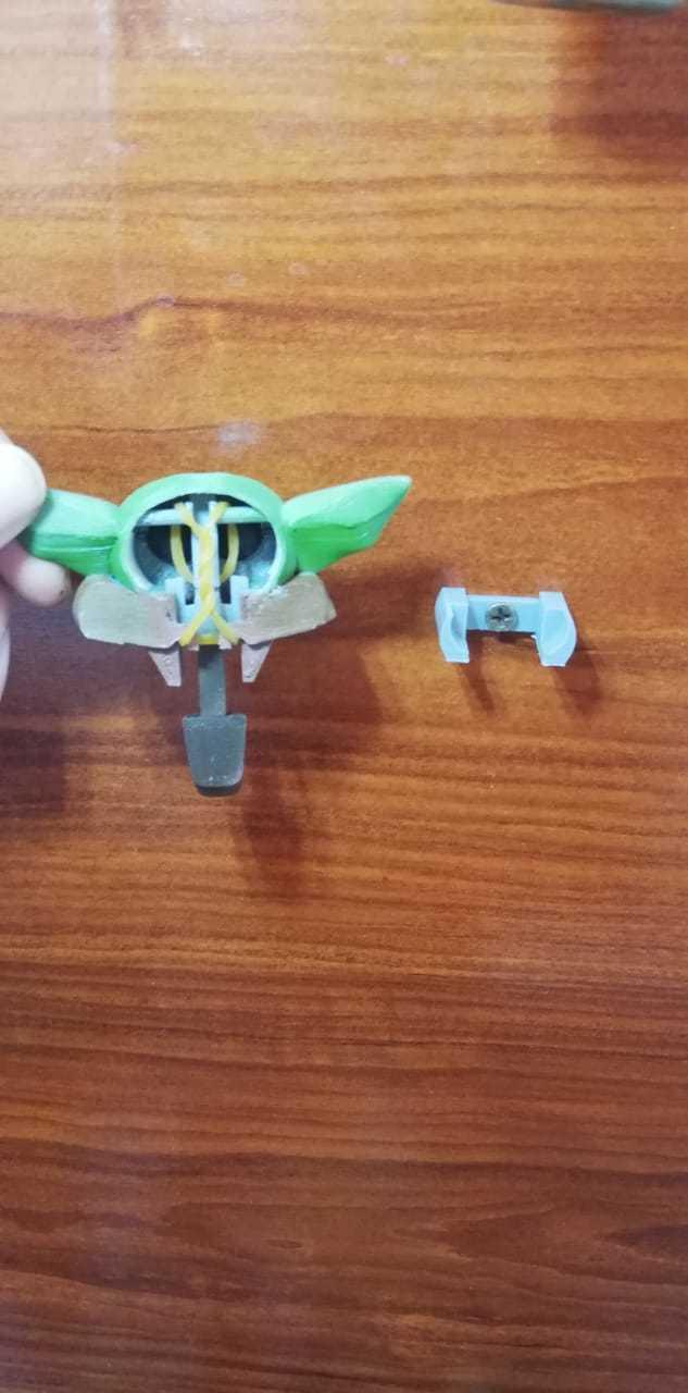 5.jpeg Download STL file Baby Yoda key holder • 3D printing model, Aslan3d