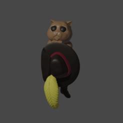 Descargar STL Gato con botas tierno, Aslan3d