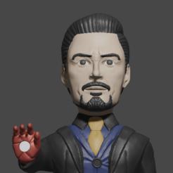 Descargar archivos 3D Tony Stark porta celular, Aslan3d