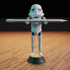 Descargar archivo 3D Storm Trooper pencil, Aslan3d