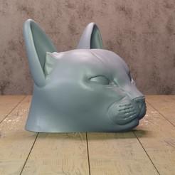 Download STL file cat • 3D printing template, Aslan3d