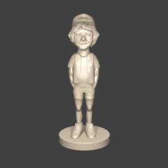 Download 3D printer designs DUSTIN, Aslan3d