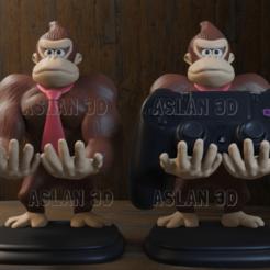 1.png Download STL file Donkey kong PS4 • 3D printable design, Aslan3d