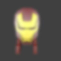 boca.stl Télécharger fichier STL gratuit Détenteur d'un téléphone portable Iron Man • Design pour impression 3D, Aslan3d