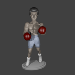 Download free 3D printer model Rocky, Aslan3d
