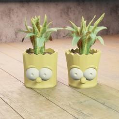 Download STL file Bart planter • 3D printable model, Aslan3d