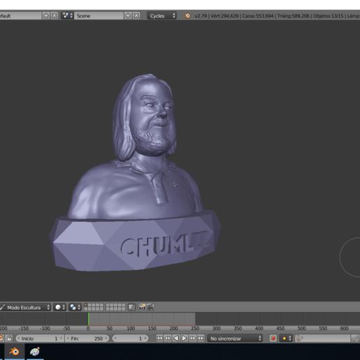 chumlee3.png Télécharger fichier STL gratuit Chumlee • Modèle à imprimer en 3D, Aslan3d