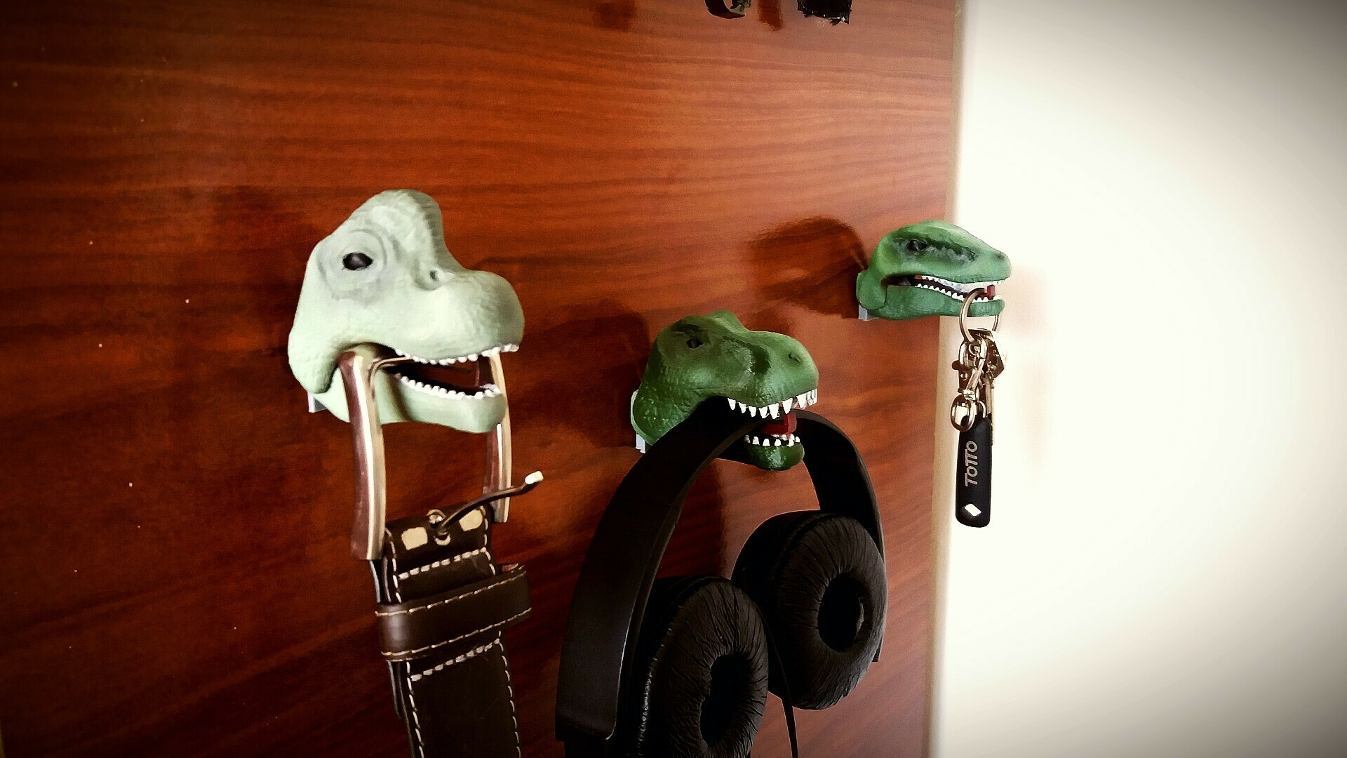 1 foto dinos.jpg Télécharger fichier STL Pendre les dinosaures • Objet à imprimer en 3D, Aslan3d