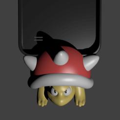 1spiny.png Télécharger fichier STL épineux koopa porta porta celular • Modèle à imprimer en 3D, Aslan3d