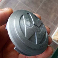 Impresiones 3D gratis Embellecedor llanta de automóvil, gabrielromanvega
