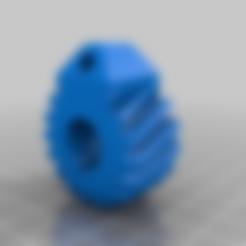 Descargar Modelos 3D para imprimir gratis Llavero engranaje, gabrielromanvega
