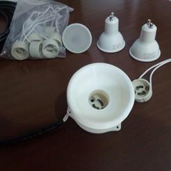 Download 3D printer designs LED Lamp, gabrielromanvega