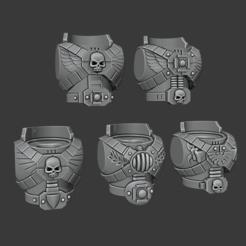 Imprimir en 3D gratis Torsos de primogénito - Veterinarios de vanguardia, Cornivius