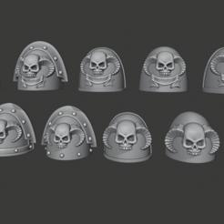 Descargar archivo 3D gratis Bibliotecario Hombreras, Cornivius