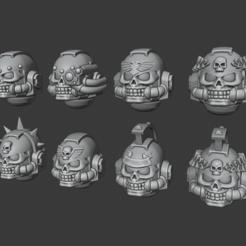 Descargar diseños 3D gratis Cascos de sacerdote enojado, Cornivius