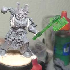 IMG_20190722_202209.jpg Download free STL file Chainaxe • 3D printer model, Red-warden-miniatures