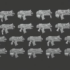 Tactical_Boltguns.png Download free STL file Tactical Rivetgun • Design to 3D print, Cornivius