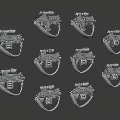 Descargar archivo 3D gratis Edición especial de Rivetgun, Cornivius