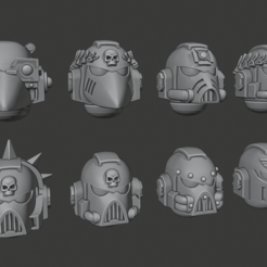 Download free STL file Firstborn Heads - Forefront Vets • 3D printable object, Cornivius