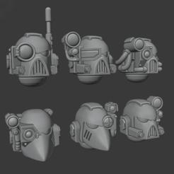 Download free STL file Firstborn heads - Heavy support Team verion • 3D printable model, Cornivius