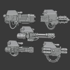 Descargar modelos 3D gratis Armas Mortis, Cornivius